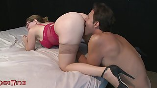 Ace erotic fucking for bespectacled big girl Kiki Daire