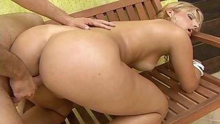 Brazilian milf Valentina gets her big ass anally destroyed