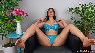 Check out Lexi Luna as she uses a toy on her well-used twat