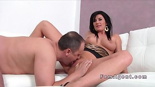 Busty Sucks Small Dick In Casting