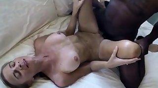 Sustenance ashen wife sucks & fucks BBC