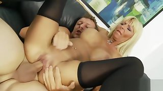 Big-titted Milf Has Her Wet Beaver Slammed