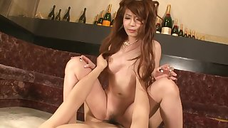 Asian princes satiated with magic magic wand and slit creampied