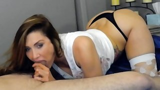 Left alone Amateur Wanking Cock Thither Panties On