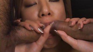 Erena Fujimori Sexy Japanese spoil has a threesome