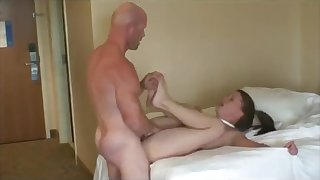 Enjoy hot amateur spycam video with cheating wife