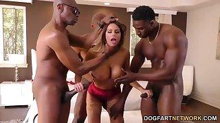 Brooklyn Chase Interracial Gangbang - Brooklyn Chase porn clip