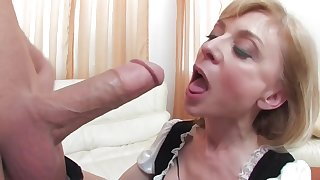 Playful Milf Blond Hair Babe Is Fluffy Of Energie - nina hartley