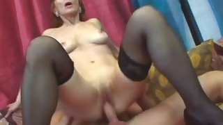 Amazing babe craving for stiff dick