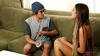 August Ames & Tyler Nixon - Geeky Gamer