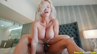 Old and young interracial sex with Ricky Johnson & Casca Akashova