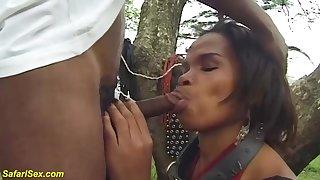 rough african MILF hardcore porn clip