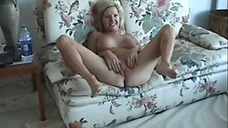 Blonde mature talk dirty about sex and fuck with husband